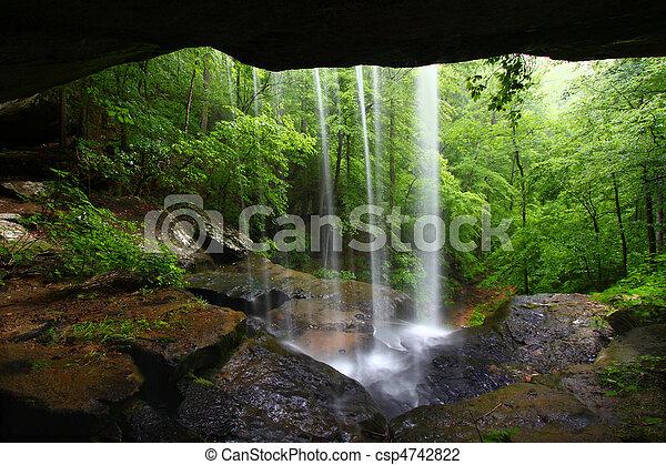 Waterfall in northern Alabama - csp4742822