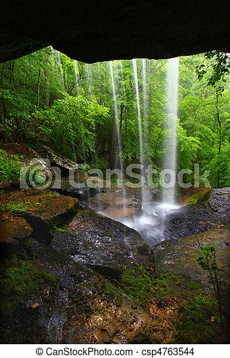 Waterfall in northern Alabama - csp4763544