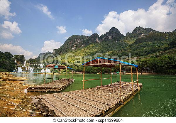 Waterfall in Vietnam - csp14399604