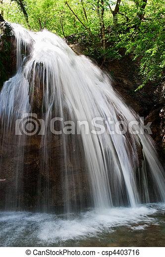 waterfall jur-jur - csp4403716