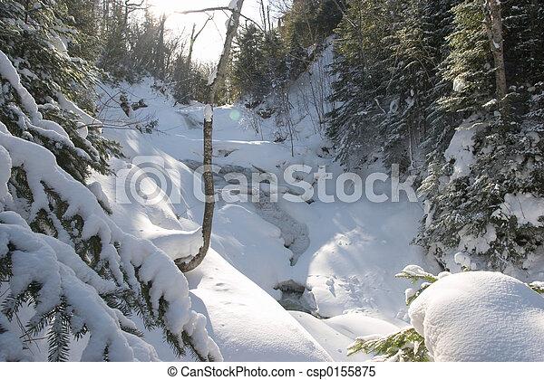 Waterfall Michigan - csp0155875