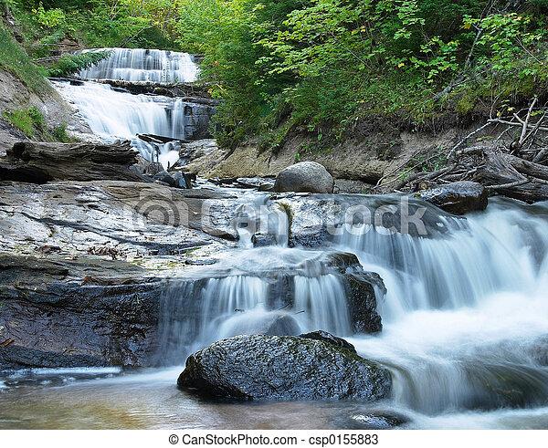 Waterfall Michigan - csp0155883