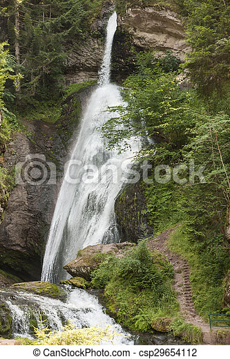 waterfall on the River - csp29654112
