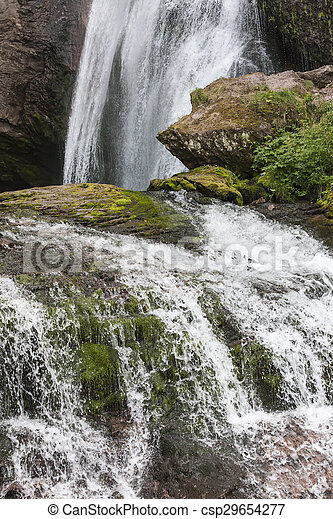 waterfall on the River - csp29654277