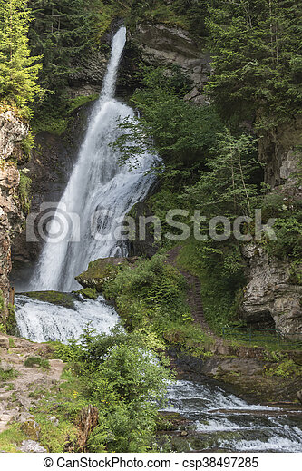 waterfall on the River - csp38497285