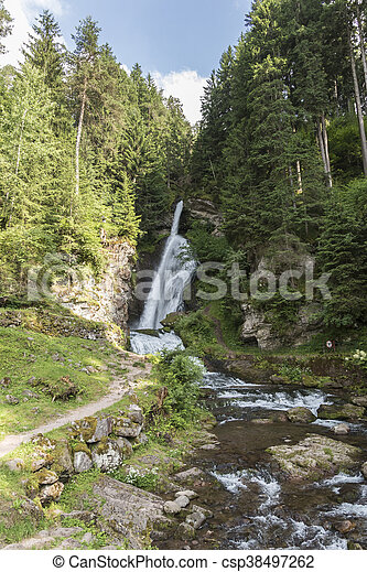 waterfall on the River - csp38497262