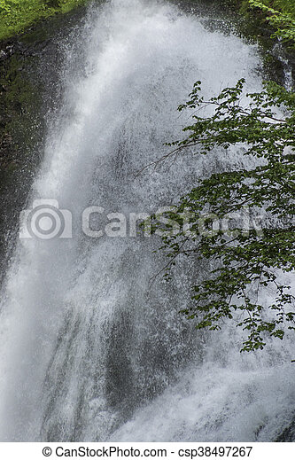waterfall on the River - csp38497267