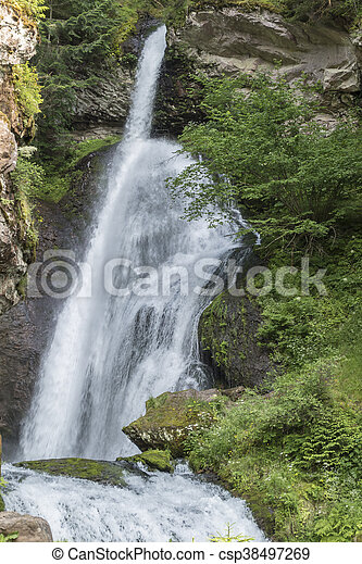 waterfall on the River - csp38497269