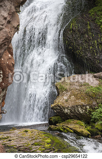 waterfall on the River - csp29654122