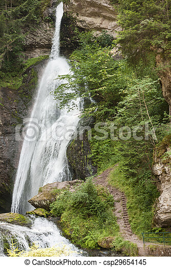 waterfall on the River - csp29654145
