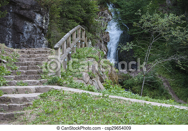 waterfall on the River - csp29654009