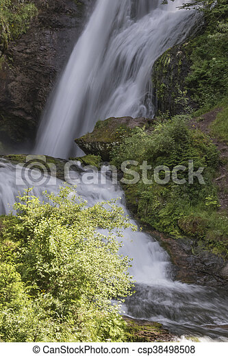 waterfall on the River - csp38498508