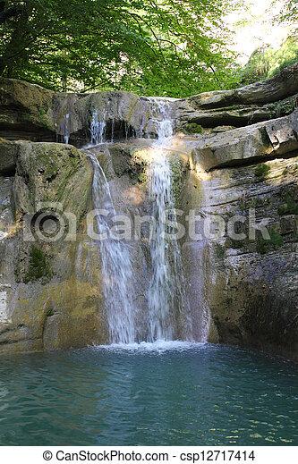 Waterfall - csp12717414