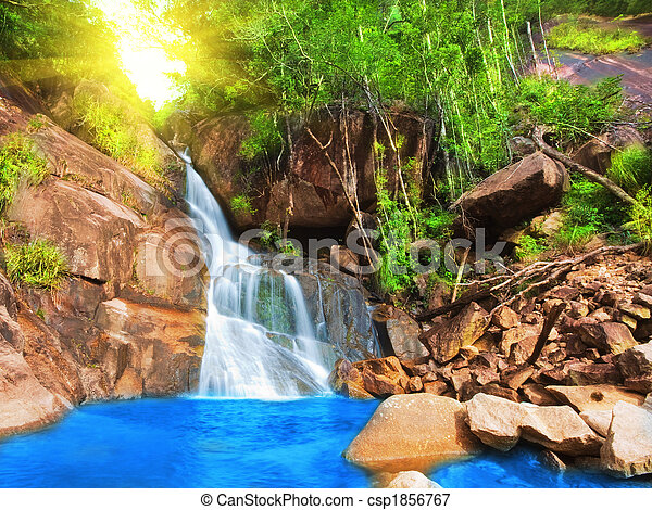 Waterfall - csp1856767