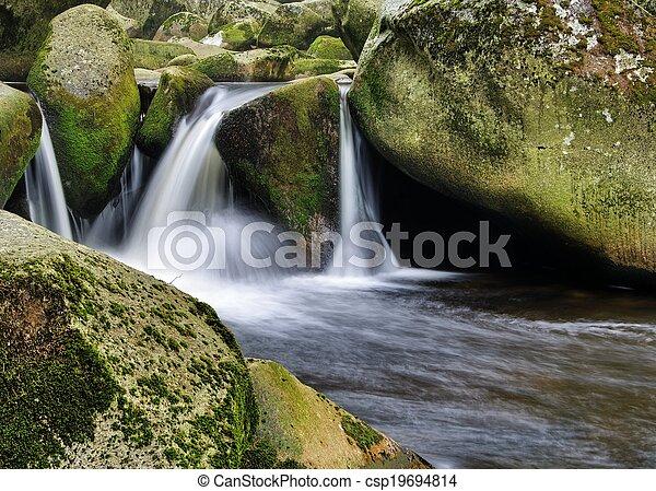 Waterfall - csp19694814
