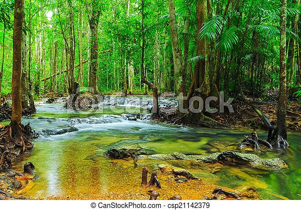 waterfall - csp21142379