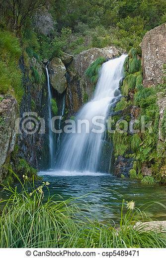 Waterfall - csp5489471