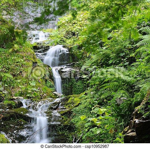 Waterfall. - csp10952987