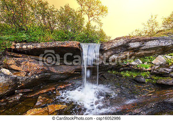 Waterfall - csp16052986
