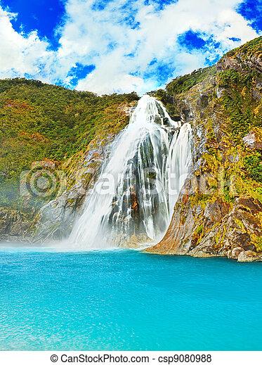 Waterfall - csp9080988