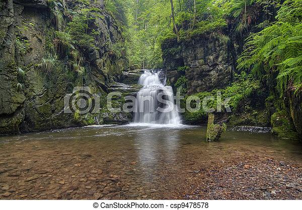 waterfall - csp9478578