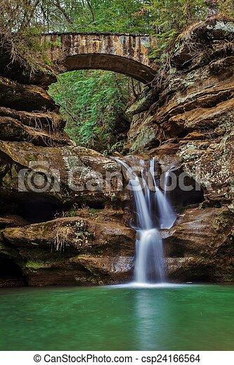 Waterfall Serenity - csp24166564
