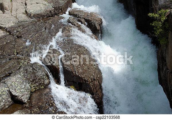 Waterfall - csp22103568