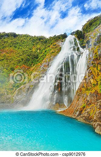 Waterfall - csp9012976