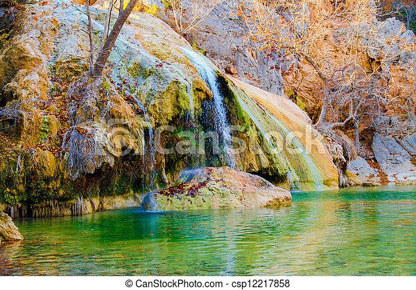 waterfall - csp12217858