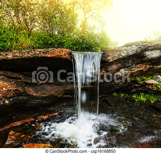 Waterfall - csp16168850