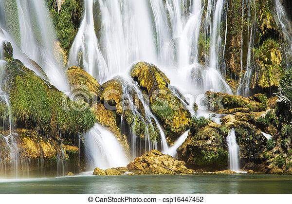 Waterfall - csp16447452