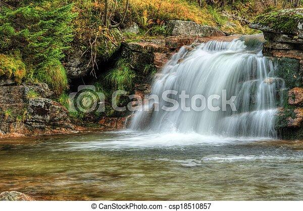 Waterfall - csp18510857