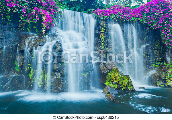 Waterfall - csp8438215