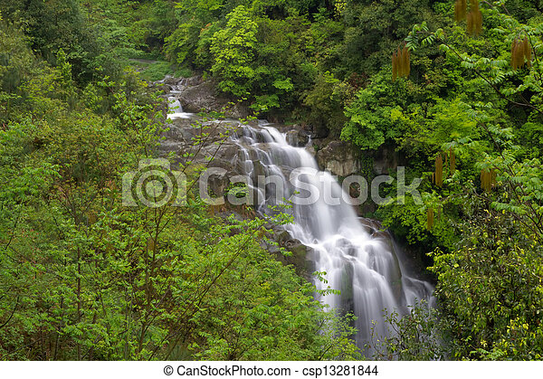 waterfall - csp13281844