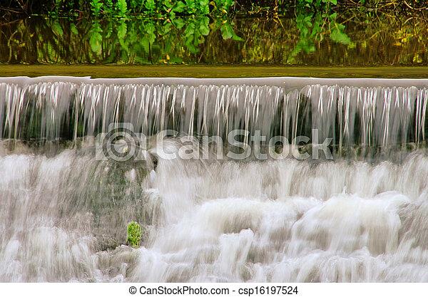 waterfall  - csp16197524