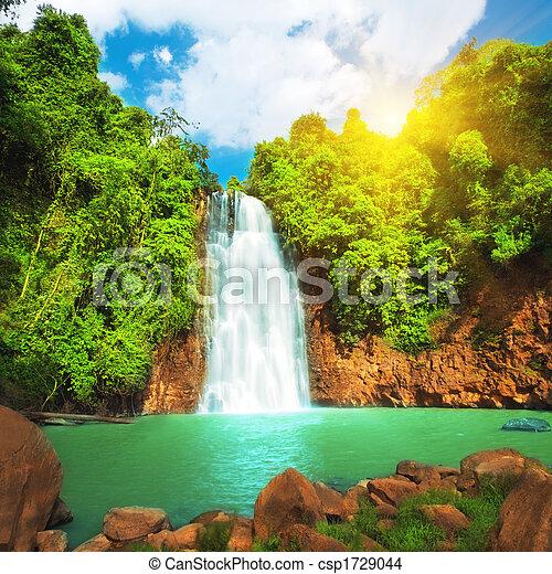 Waterfall - csp1729044