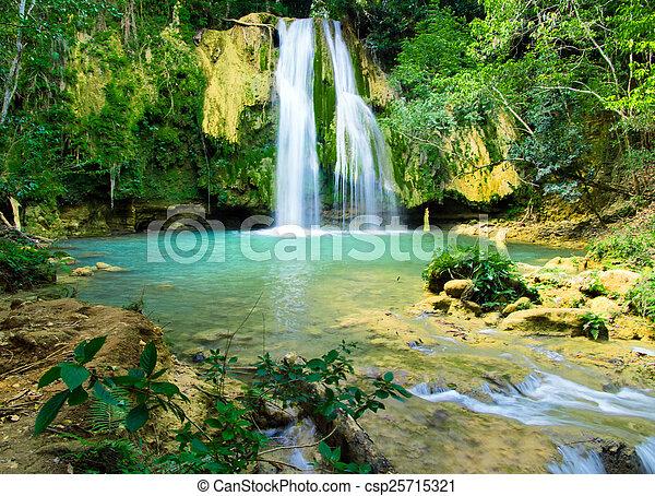 waterfall - csp25715321