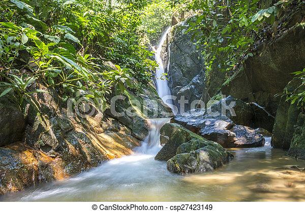 Waterfall - csp27423149