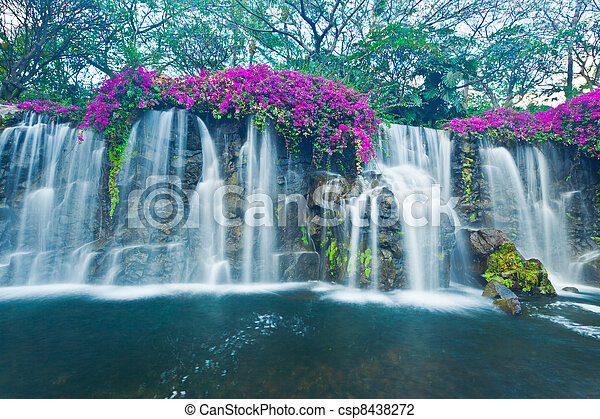 Waterfall - csp8438272