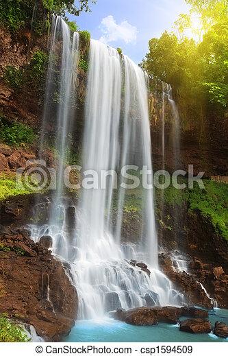 Waterfall - csp1594509