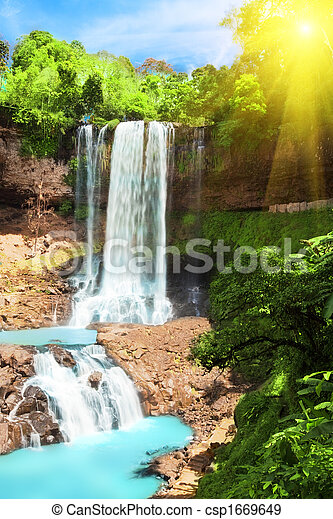 Waterfall - csp1669649