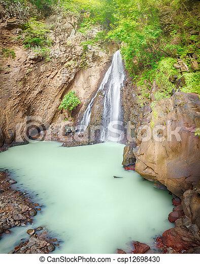 Waterfall - csp12698430