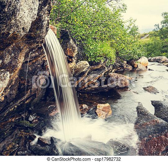 Waterfall - csp17982732