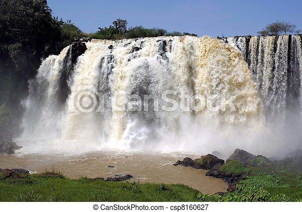 Waterfalls in Ethiopia - csp8160627