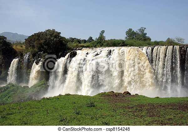 Waterfalls in Ethiopia - csp8154248
