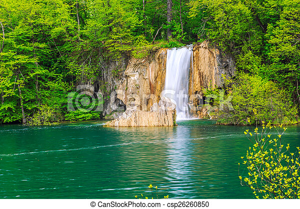 Waterfalls in Plitvice - csp26260850