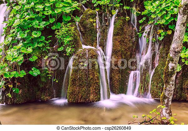 Waterfalls in Plitvice - csp26260849