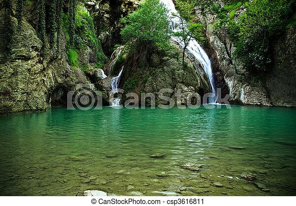 Waterfalls  - csp3616811
