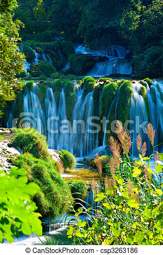 Waterfalls - csp3263186