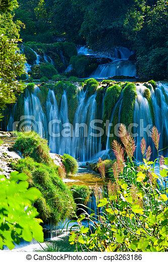 Waterfalls - csp3263186